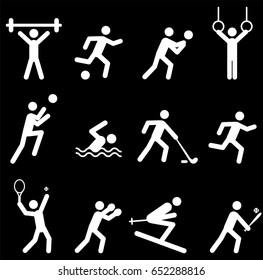 Sport game icon symbol.Vector