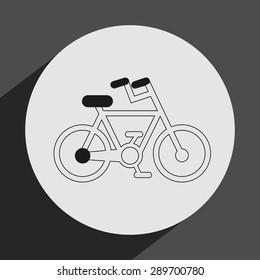 sport icon design, vector illustration eps10 graphic
