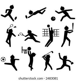 Sport icon set 1