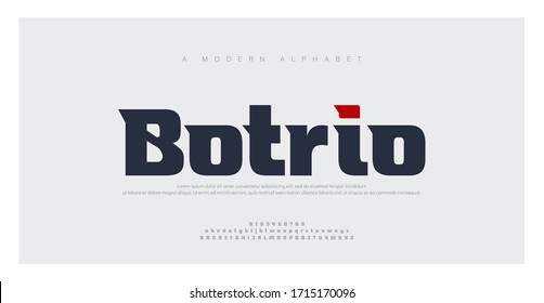 Sport Modern Future bold Alphabet Font. Typography urban style fonts for technology, digital, movie logo bold style. vector illustration