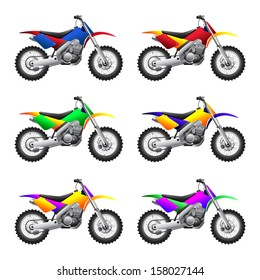 Sport motorbikes