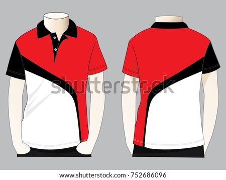 702689626 Royalty-free stock vector images ID: 752686096. Sport polo shirt design -  Vector