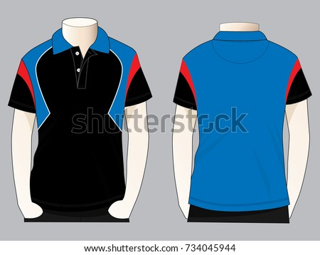 9cf5f4597 Royalty-free stock vector images ID: 734045944. Sport polo shirt design  vector - Vector