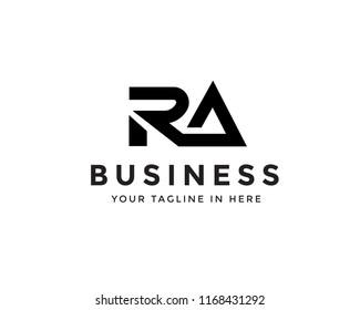 sport RA logo design