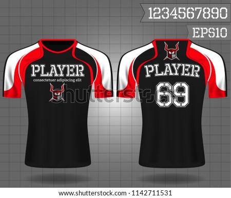 bb8cda06b2130e Sport Shirt Tshirt Sport Design Vector Stock Vector (Royalty Free ...