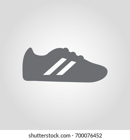Sport shoes vector icon