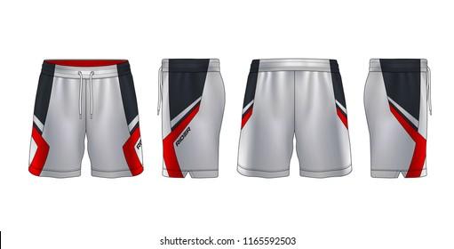 shorts template images  stock photos  u0026 vectors