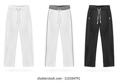 Sport sweatpants set.