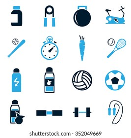 Sport symbol for web icons
