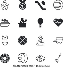 sport vector icon set such as: course, band, wheel, trip, aerostat, clothing, website, wearable, stretching, aircraft, basket, tourist, transatlantic, person, go, smartband, olimpic, old, energy, win