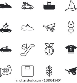 sport vector icon set such as: go, lose, intelligence, traffic, recreation, medal, prize, road, button, station, back, biceps, minicar, polo, medallion, emblem, corn, mockup, ear, driving, move