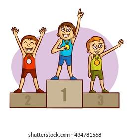 Sport. Winners. Medalists. Athletes