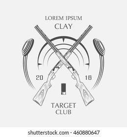 sporting clay Skeet, target club.