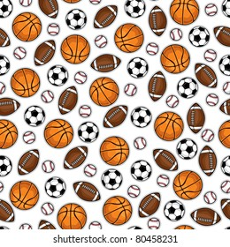 Sporting equipment pattern