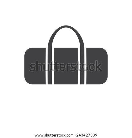 9607bc0ff2 Sports Bag Modern Flat Icon Stock Vector (Royalty Free) 243427339 ...