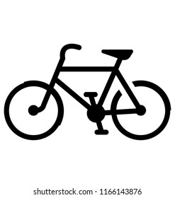 Sports bicycle for a ride
