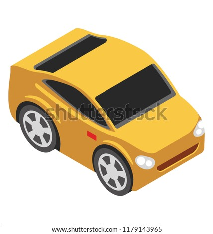 Sports car with high