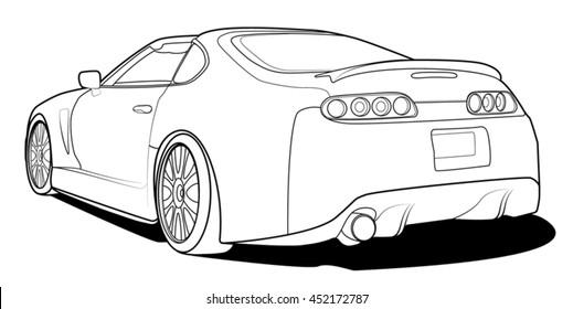 Luxury Car Audi Stock Illustrations Images Vectors Shutterstock