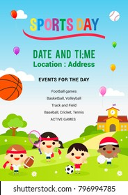 sports day poster template - sport day images stock photos vectors shutterstock