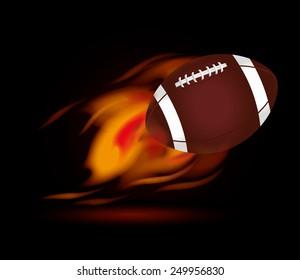 Sports design over black background ,vector illustration.
