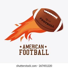 Sports design over white background, vector illustration.