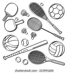 Sports Equipment Collections