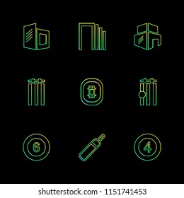 Sports  games  atheletes  arrows  left  right  up  down  cricket   football  tennis  bails  ball  wicket  halmet  icon vector design  flat  collection style creative  icons