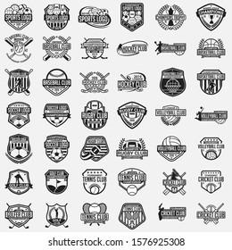 Sports Logo Badge & Label