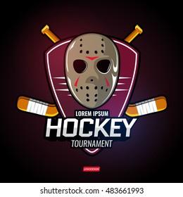 Sports logos for hockey.