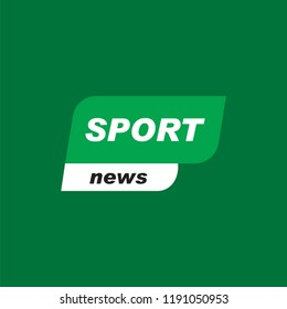 Sports news vector. Sport news icon vector symbol. Linear style sign for mobile concept and web design. Sport news banner symbol illustration. Pixel vector graphics - Vector.or banner.