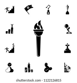 sports torch icon. Detailed set of Sucsess and awards icons. Premium quality graphic design sign. One of the collection icons for websites, web design, mobile app on white background