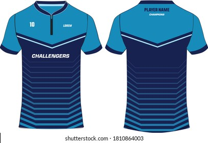 Rugby Jersey Template Images Stock Photos Vectors Shutterstock