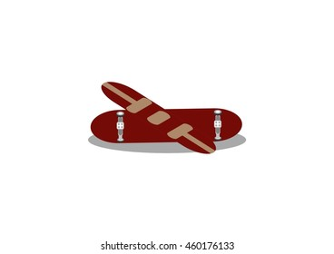 sports vector skateboards