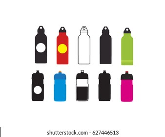 Sports water bottle set