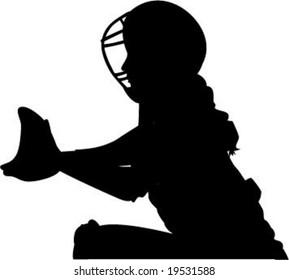 Girls Softball Images, Stock Photos & Vectors   Shutterstock