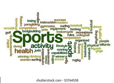 Sports - Word Cloud