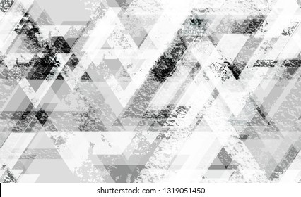 Sporty Clothes Seamless Background Texture. Rough Geometry Pattern. Tech Forms Seamless Texture. Sporty Fashion Pattern.