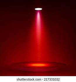Spotlight vector background