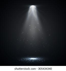 Spotlight. Vector illustration