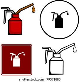 spout oiler can applicator