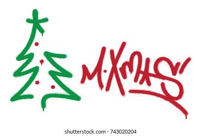 Christmas Graffiti Background.Christmas Graffiti Images Stock Photos Vectors Shutterstock