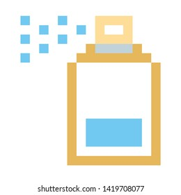 spray icon. flat illustration of spray vector icon for web