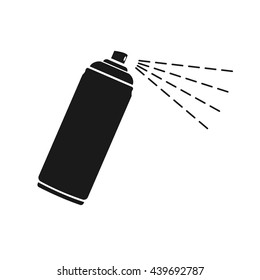 Spray icon Vector. Flat vector illustration in black on white background. EPS 10