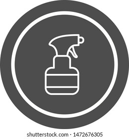 Sprayer Icon In Trendy Style Isolated Background