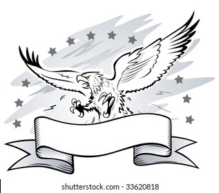 Spread Winged Eagle Insignia