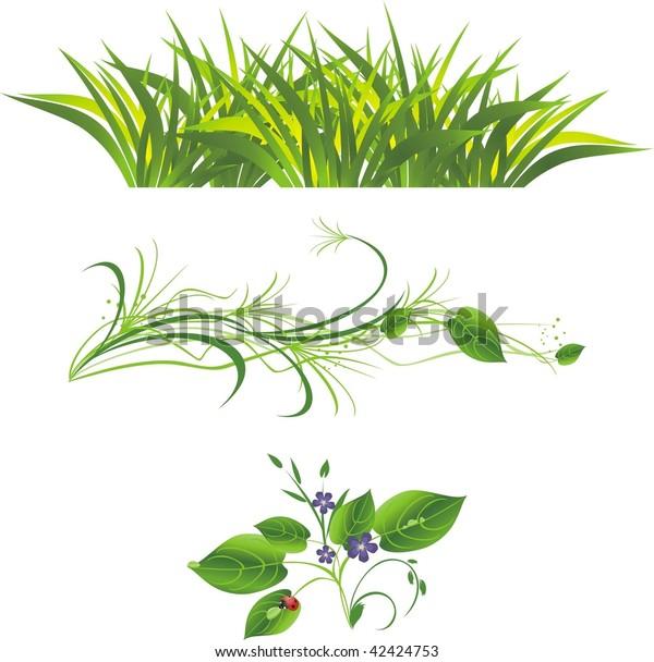 sprig-flowers-grass-ladybird-three-600w-