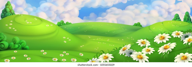 3d Background Garden Stock Vectors, Images \u0026 Vector Art