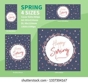 Spring Background Pack