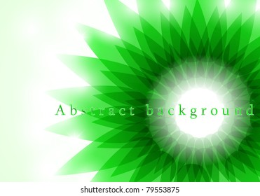 Spring background with space