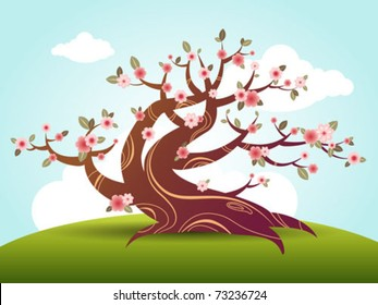 Cherry Blossom Cartoon Images Stock Photos Amp Vectors